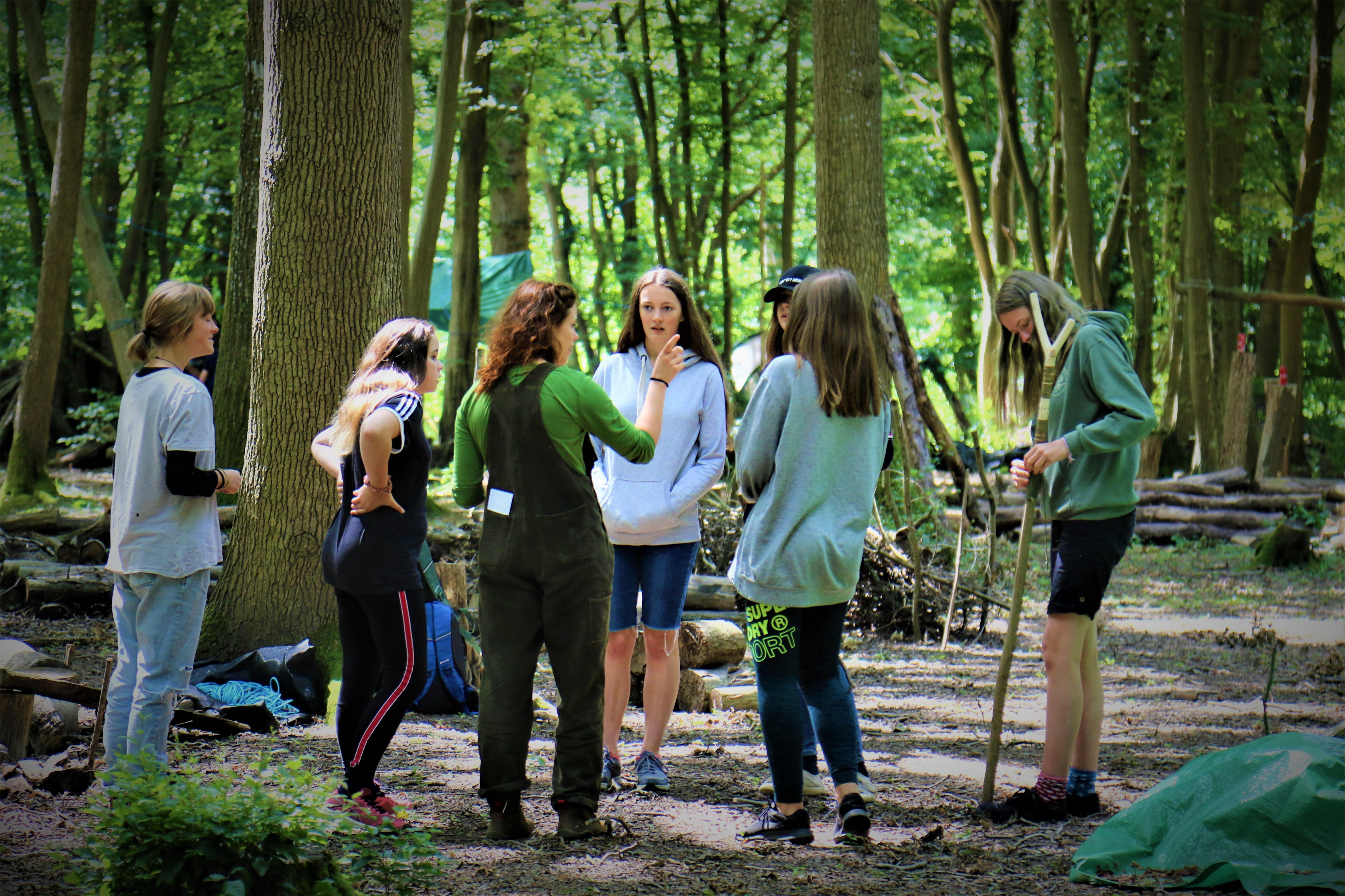 Earth Steward Apprenticeship (ESA) Junior camp mentored by Phil Greenwood