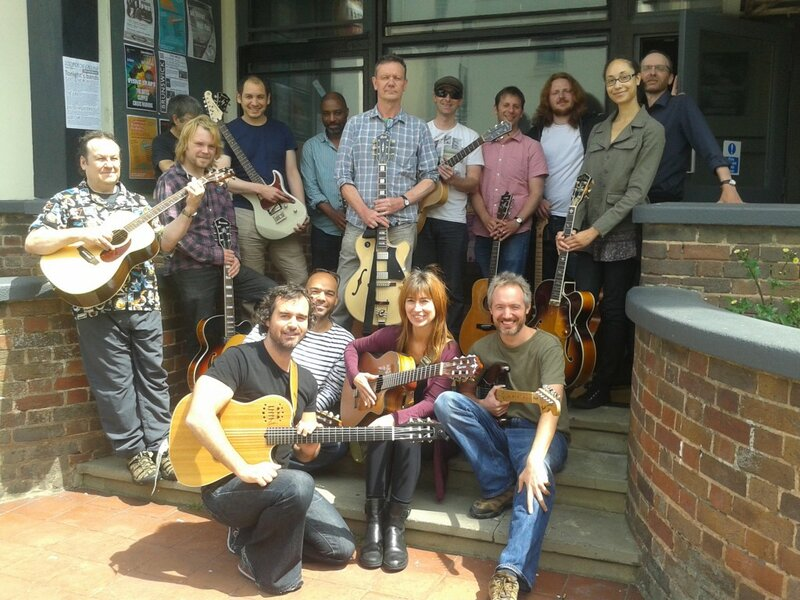 Advanced Guitar Concepts Weekly Zoom Class block mentored by Paul Richards