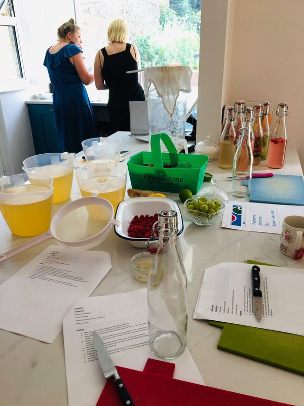 Introduction to Fermented Drinks Workshop -Shoreham-by-Sea block mentored by Roisin Meredith