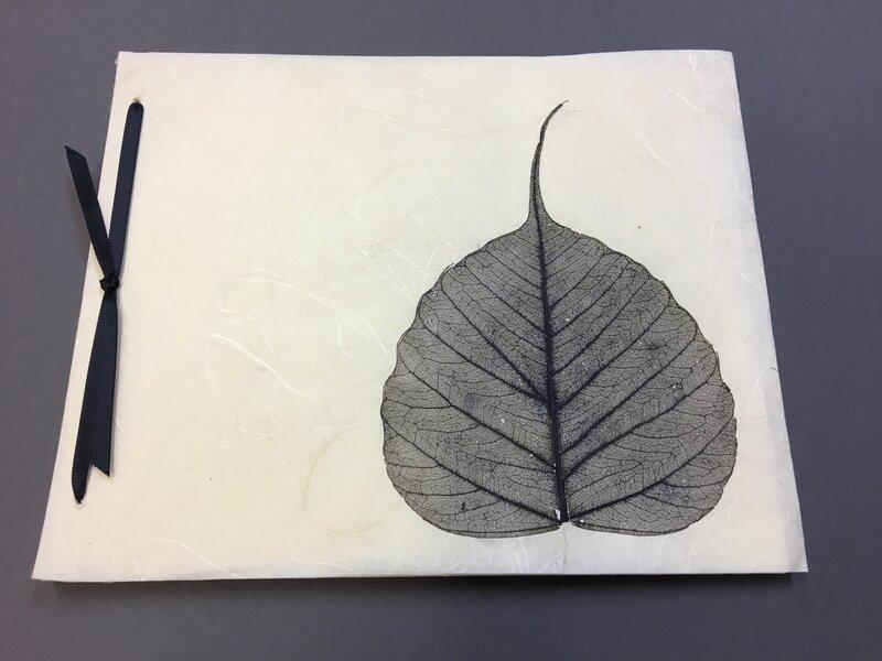 Japanese style bindings block mentored by Rachel Ward-Sale