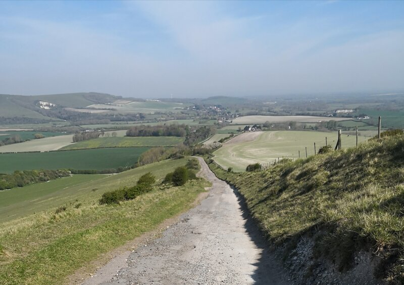 Walk and create in the South Downs block mentored by Jacky Misson