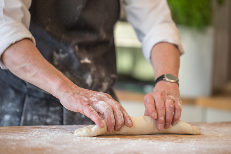 Introduction To Bread Making block mentored by Les Nicholson