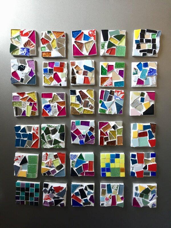 Mosaic Workshops  block mentored by Mandy Yeoman