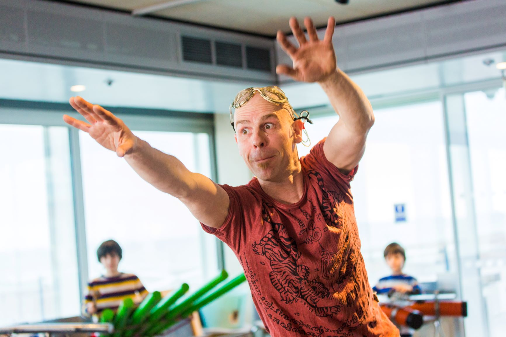 Music Making And Sound Sculpture Build workshop mentored by Ben Gates