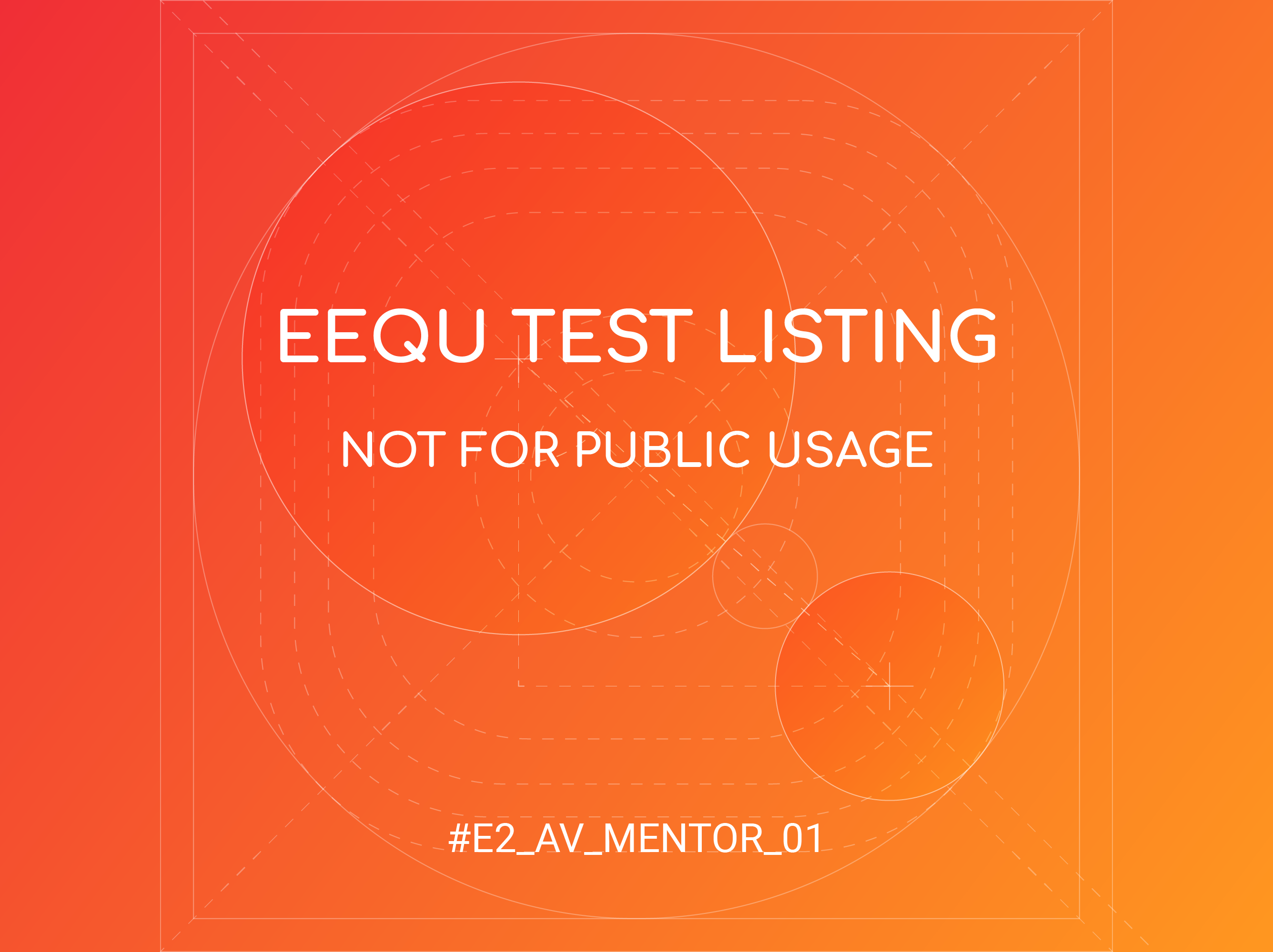 Eequ Test Experience block mentored by Avida Hancock