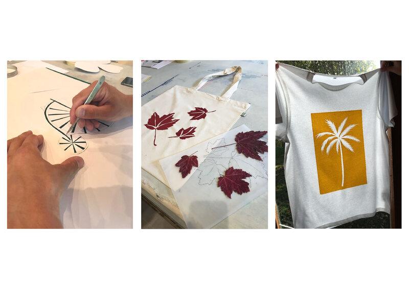 Pattern and Print workshop block mentored by Lara Görlach