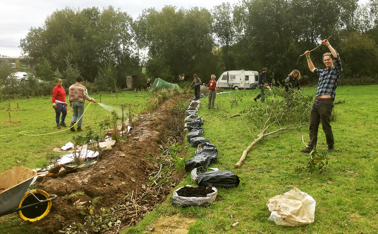 Water, Swales & Food Forest Design  camp mentored by Ed Dale-Harris