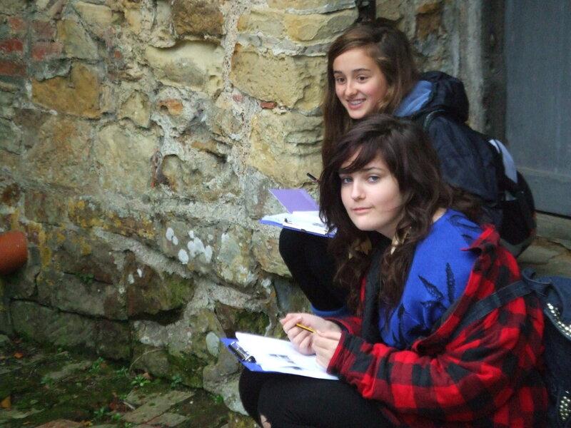 English GCSE NIP Home Ed Group lesson mentored by Julia Gillick