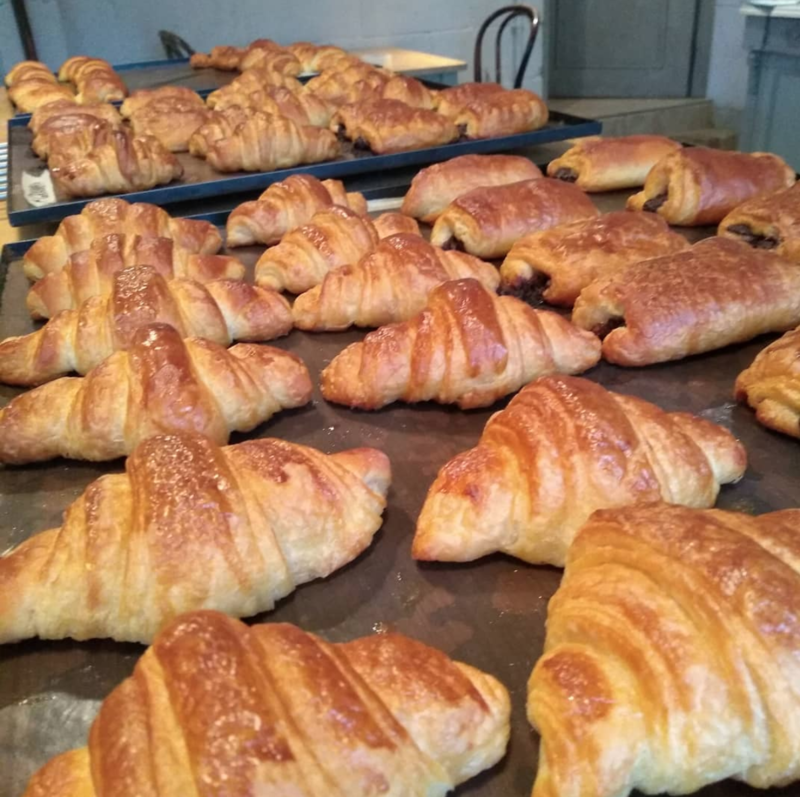 Introduction to Viennoiserie & Enriched Doughs block mentored by L Nicholson