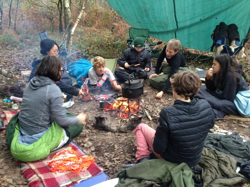 Sacred Earth school camps camp mentored by Phil Greenwood