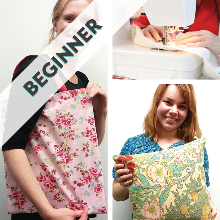 Learn To Sew & Make a Bag or Cushion workshop mentored by Kat Neeser