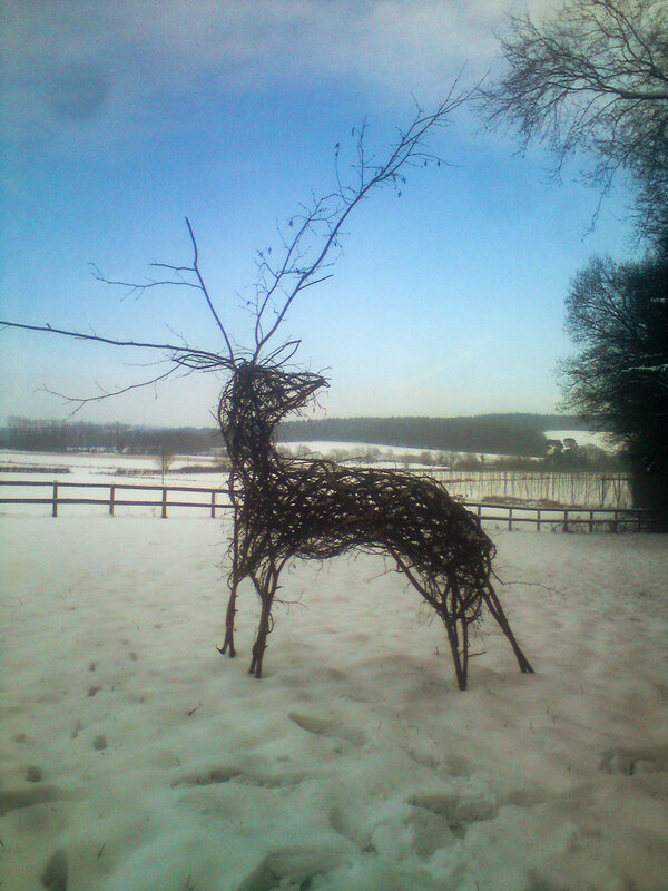 Build a Withy Deer block mentored by Martin Brockman