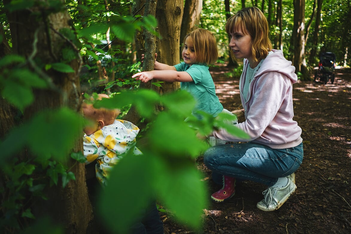 Wild Things - Parent and Toddler group term mentored by Luke Funnell
