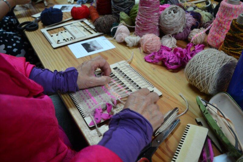 Beginners Weaving Workshop - Adult block mentored by Siobhan Martin