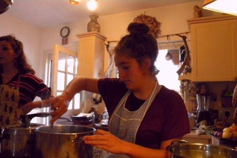 Kitchen Lingo block mentored by Anna Rigano