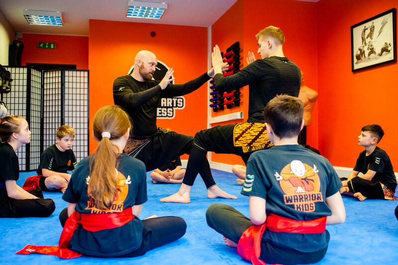 Warrior Juniors Online 1 - Martial Arts & Movement block mentored by Matt Tucker