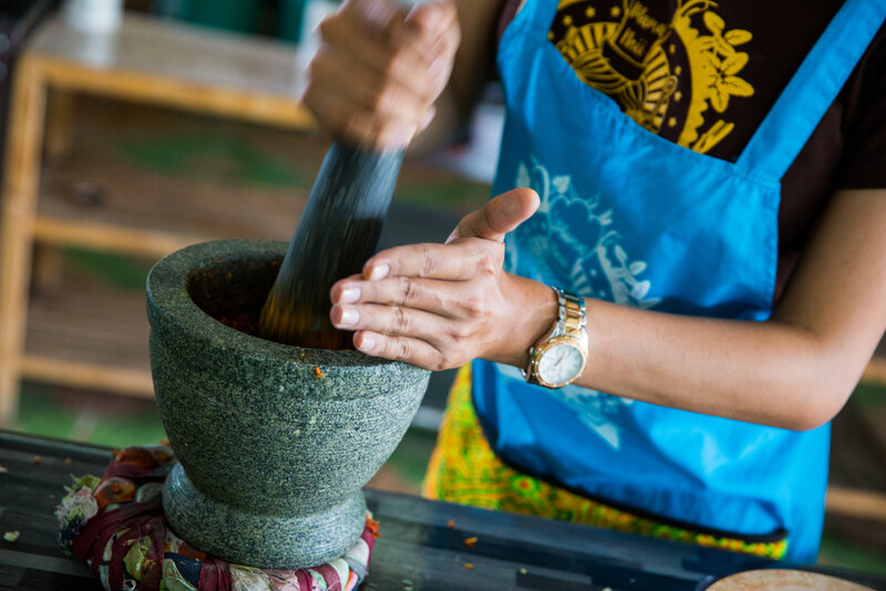 Traditional Thai Cooking Course block mentored by Sunisa Camp