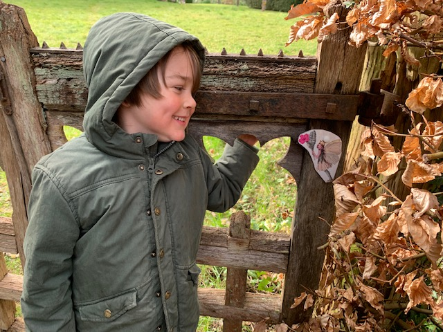 Woodland Magic Family Day event mentored by Lorna  Hendley