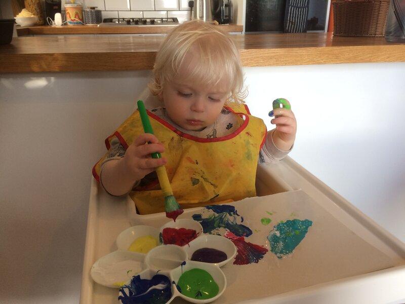 Nessie's Nursery block mentored by Vanessa Creaton