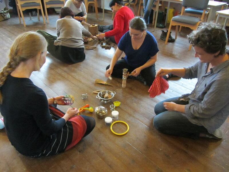 Holistic Baby & Childcare Taster Mornings block mentored by Dorothy Marlen