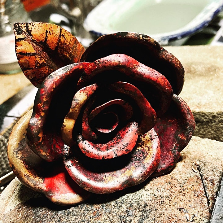Copper Forging in the woods - Full Day workshop mentored by Dee Heyward-Ponte