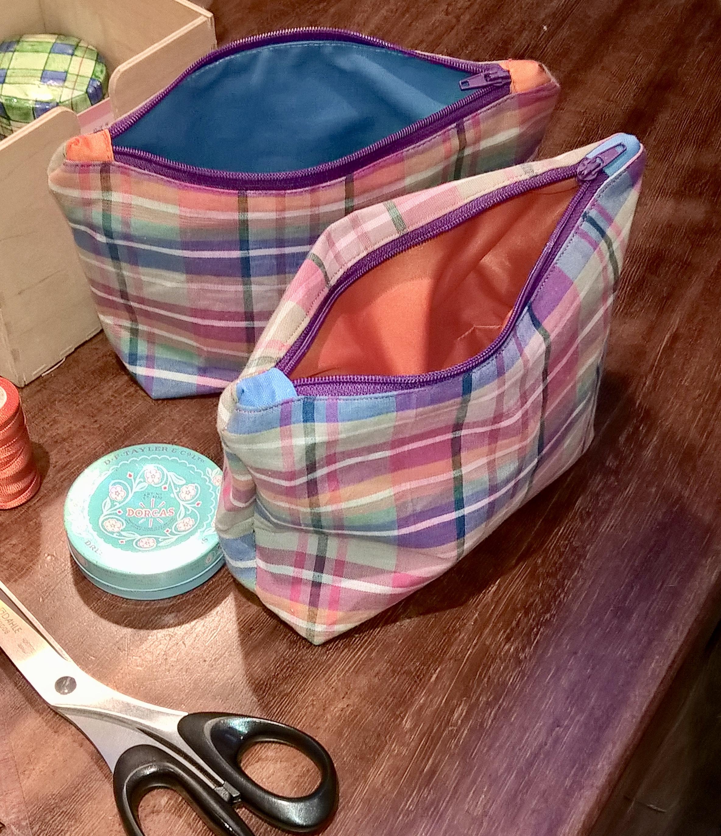 Sutura Sewing - Zip Purse workshop mentored by Annabelle  Davis