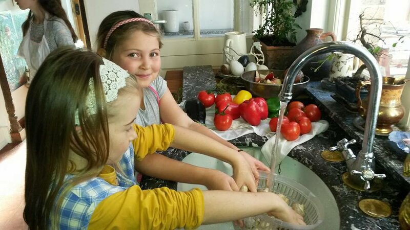 Kitchen Lingo Kids Summer Holiday Club  block mentored by Anna Rigano
