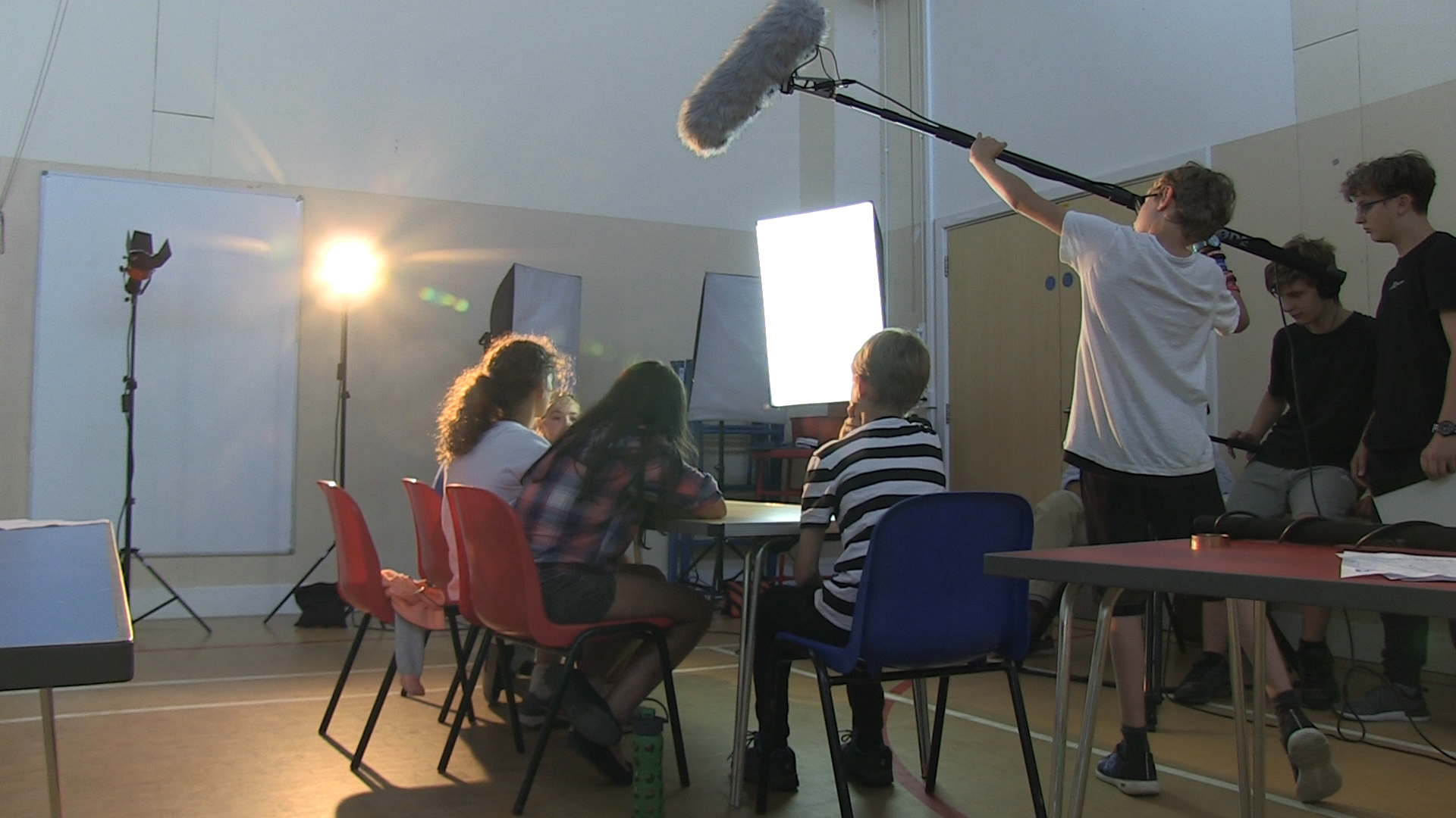 KID'S FILM MAKING SUMMER CAMP camp mentored by Clive Martin