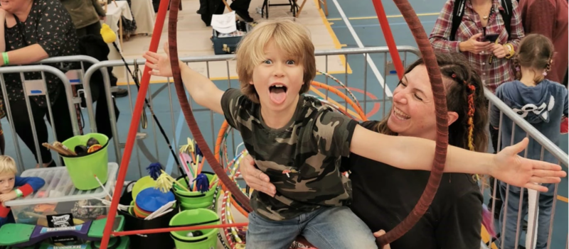 Home Ed Circus Skills (4-8yrs) block mentored by Miz Wells