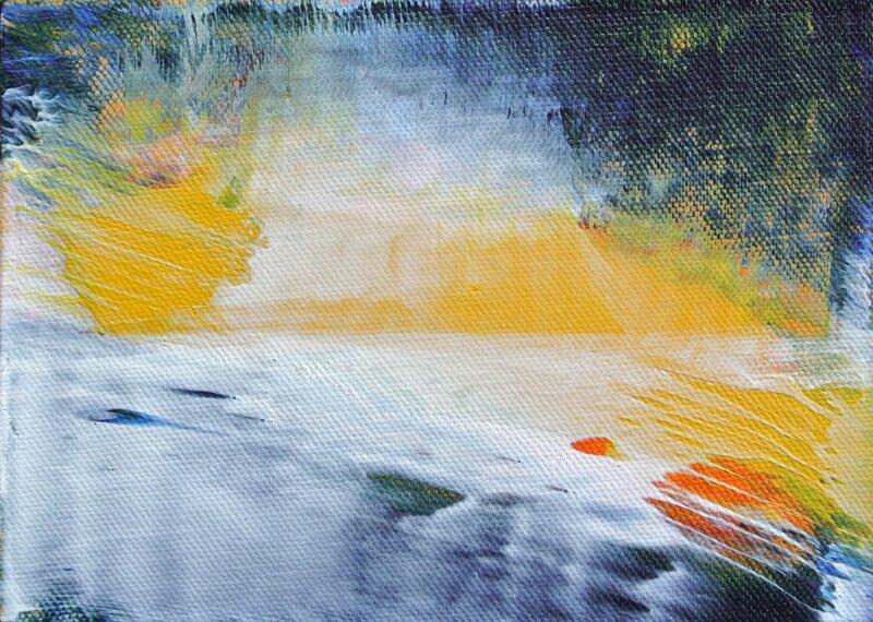 Winter Painting Retreat block mentored by Richard Heys