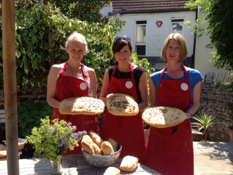 Mediterranean Bread-Making Workshop (for adults) block mentored by Anna Haynes