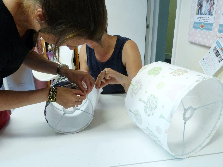 Lampshade Making Workshop workshop mentored by Kat Neeser