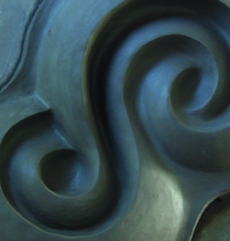Surface and Form: 3 week clay relief course with Nick Weidmann block mentored by Emerson College