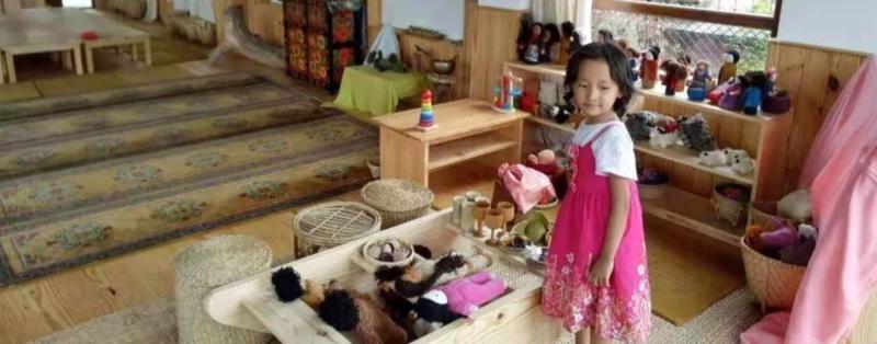 Experiential Buddhist Kindergarten Teacher Training block mentored by Abiding Heart