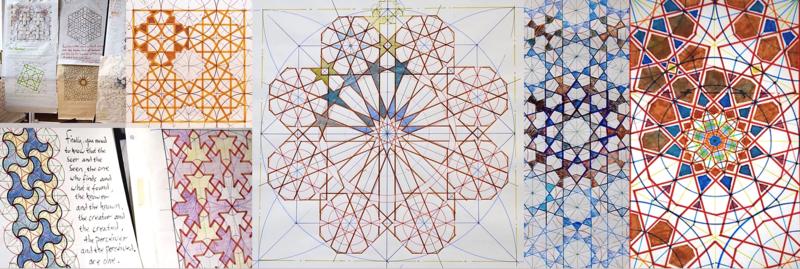 Geometry of the Islamic World: Week Course block mentored by Sacred Art of Geometry Studios Docherty