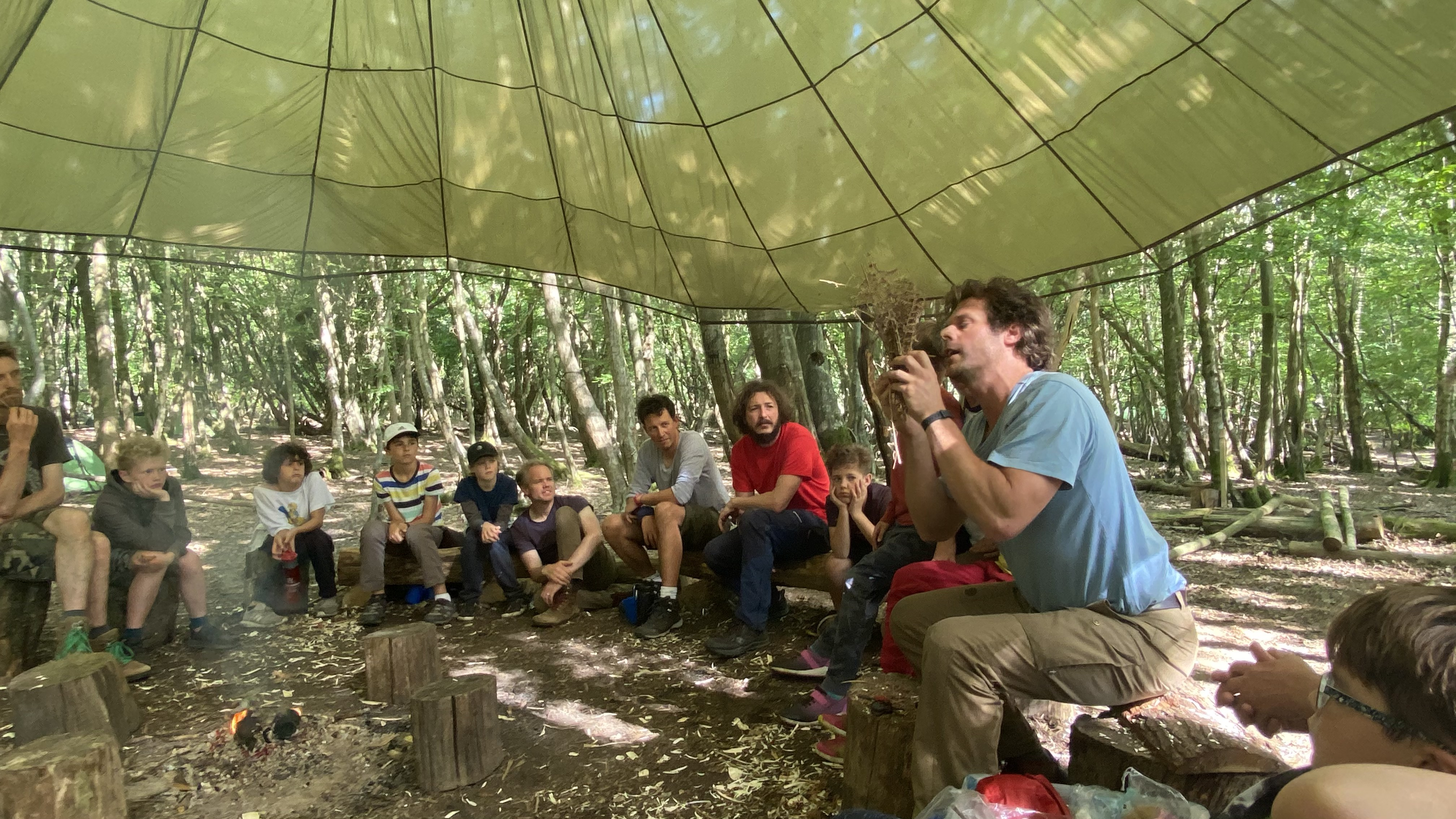 Feral Fathers, Savage Sons  camp mentored by Chris Packe