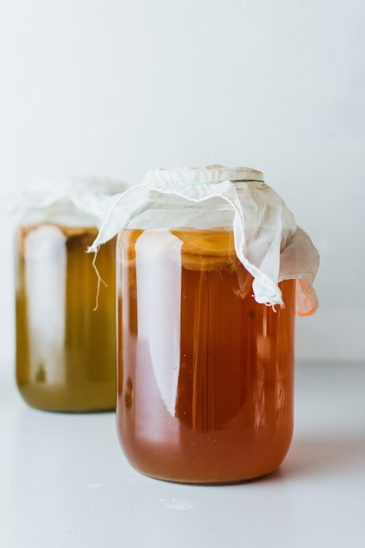 Introduction to Fermented Foods and Drinks Workshop block mentored by Roisin Meredith
