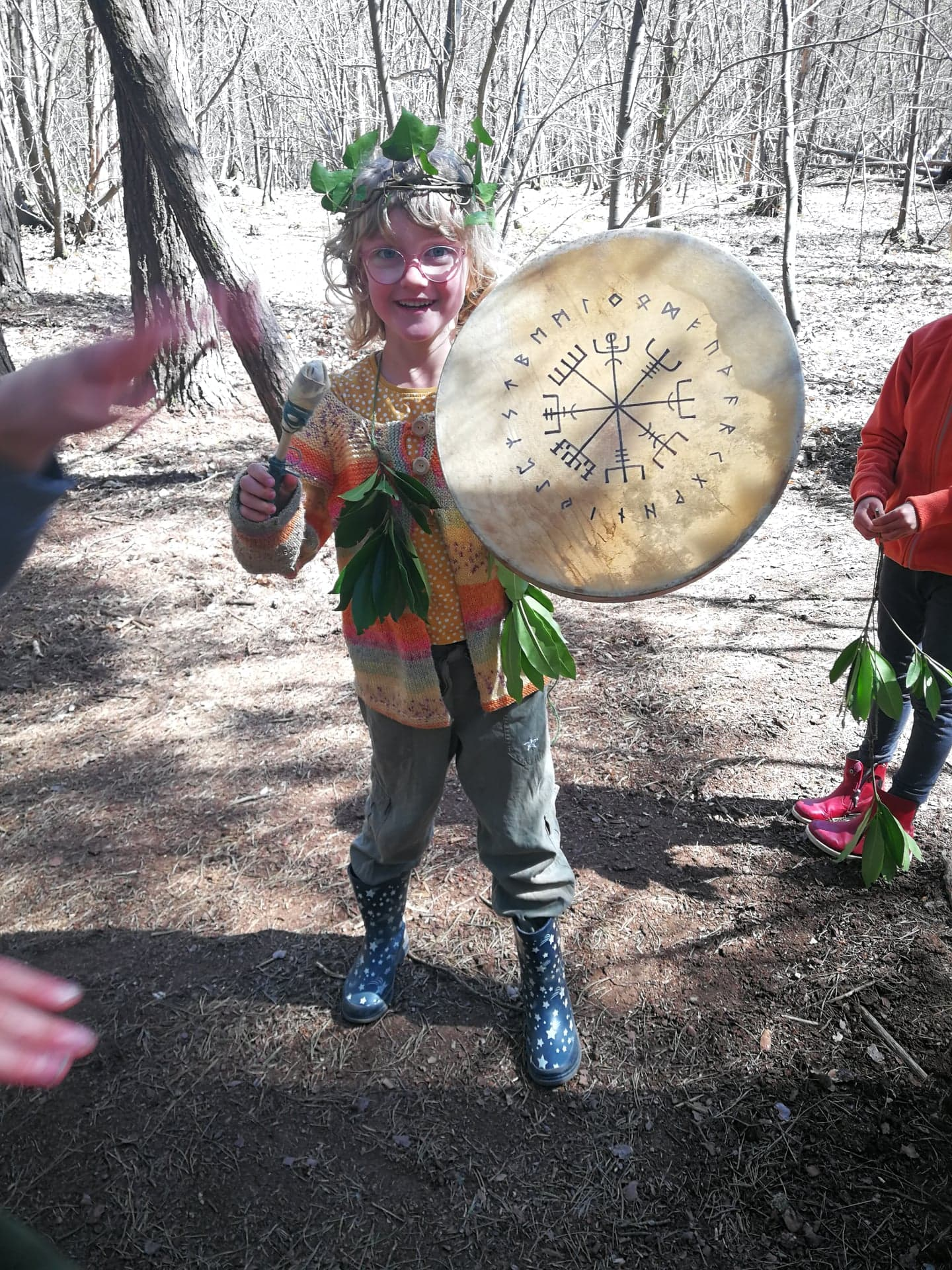 SAMHAIN WOODLAND DAY event mentored by Luke Funnell