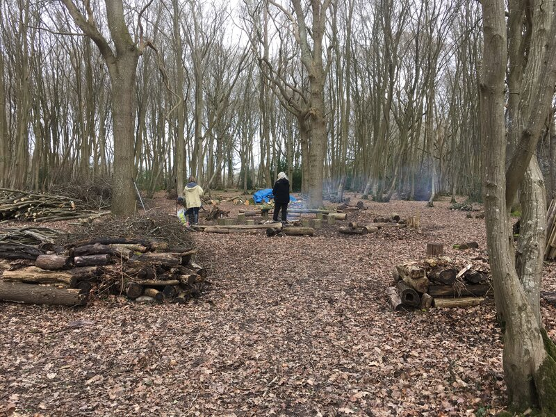 Wildlings Adventure Day event mentored by Phil Greenwood